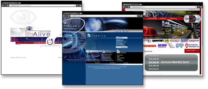 SiteAlive Websites